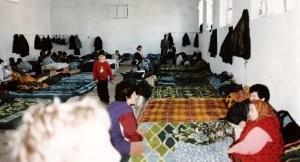 LAC - KOSSOVO - ALBANIA Organizzazione di campi profughi